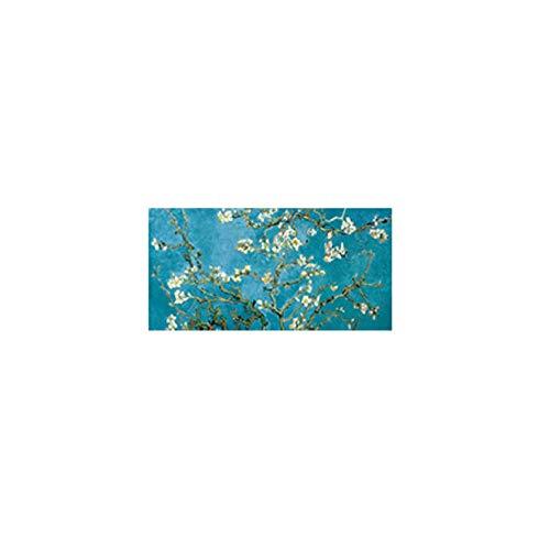 wcyljrb Mandelblüte Gemälde an der Wand von Impressionist Mandelblüte Wandkunst Leinwand Bilder Wohnkultur-60cmx90cm