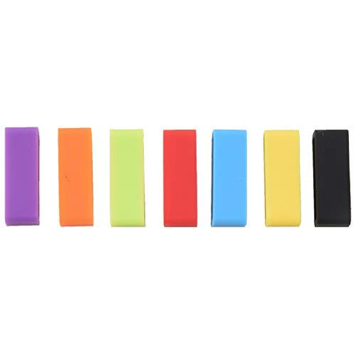 LilyJudy 7 piezas de goma para reloj de 20 mm de ancho
