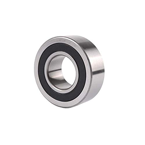 FLY MEN 8PCS 5202ZZ 5202-2RS 3202ZZ 3202-2RS 3202 5202 Double Row Angular Contact Ball Bearing 15x35x15.9mm Bearing (Size : ZZ Metal Shields)