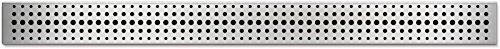 Duschrinne Bodenablauf Edelstahl Ablaufrinne Badablauf flach 65cm, Modell: Basic