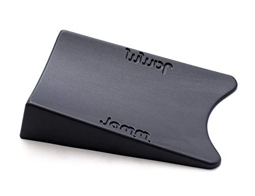The World's Best Door Stopper! Beats all other door stops and wedges on Tile, Carpet, Wood, Laminate, Stone, and Marble floors. The Award-winning Jamm® doorstop is perfect for babies and kids, dogs and cats, home and work. No more slamming doors! (1 pack Dark Grey)