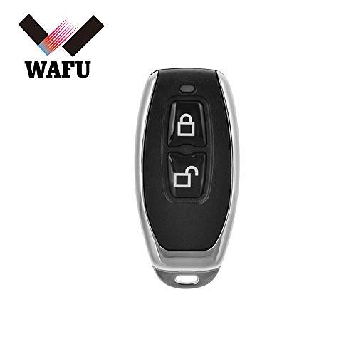 WAFU 433MHz Tecla de Control Remoto Inalámbrico para Cerradura Invisible WF-018 y WF-008