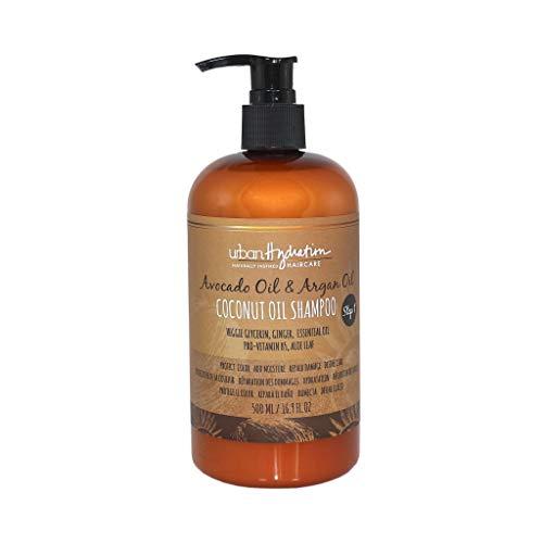 Urban Hydration Avocado & argan coconut oil shampoo, 16.9 fluid ounce, Brown