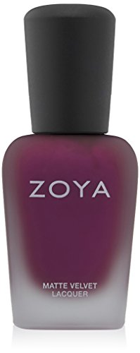 ZOYA Nail Polish, Iris Mattevelvet, 0.5 Fluid Ounce