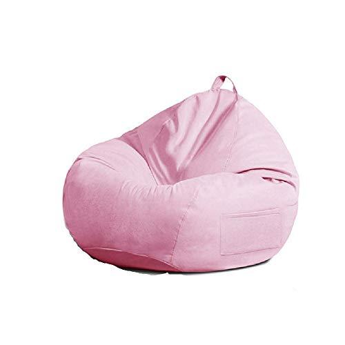 Puf Puf, diseño ergonómico de Espuma de Memoria Sofá con Tapa, para niños, Adultos, Dormitorio, Sala de Estar, etc Libre o la casa o el jardín Butaca de Juego,Pink