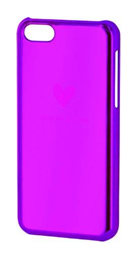 Agatha Ruiz de la Prada AGCI002 - Carcasa con efecto metalizado para Apple iPhone 5C, rosa