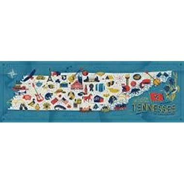 True South  Tennessee  Discover the States Series Jigsaw Puzzle 750 Pieces 12 x36