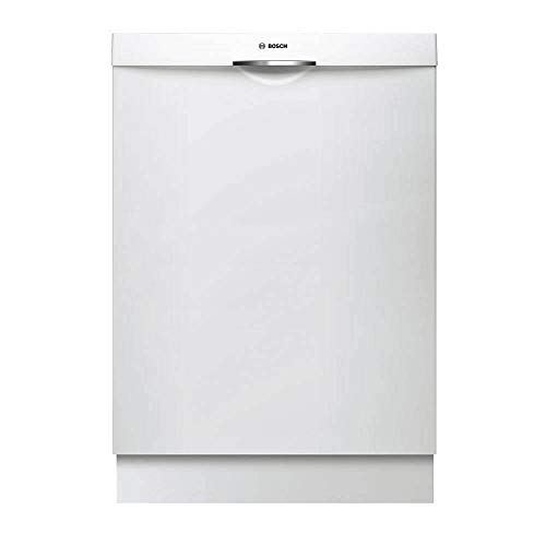 Bosch SHSM63W52N 24' 300 Series Built In Fully Integrated Dishwasher with 5 Wash Cycles, in White