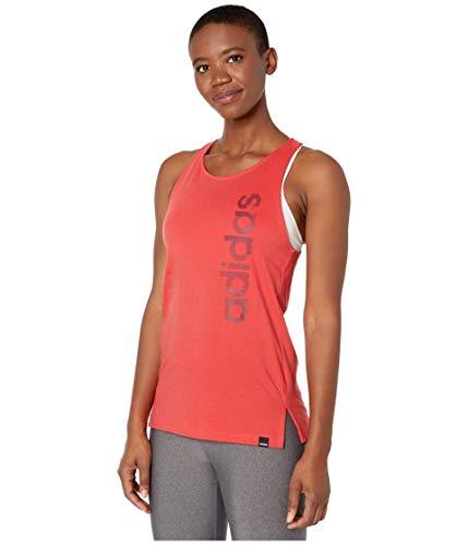 Adidas - Camiseta de tirantes para mujer, diseño de camuflaje