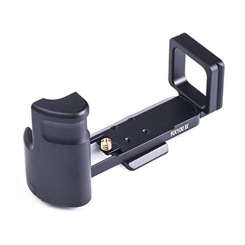 RX100 / RX100M2 / RX100M3 / RX100M4 / RX100M5 / RX100M6 / RX100M7 L Halterung L Platte Schnellwechselhalter Handgriff für Sony DSC-RX100 M1 II(M2) III(M3) IV(M4) V(M5) VI(M6) VII(M7) (RX100II L Plate)