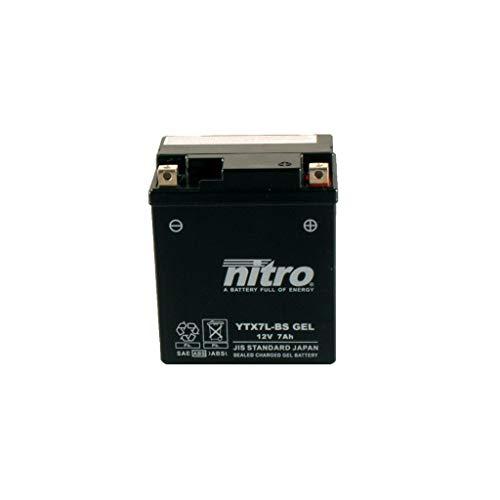 Batterie 12V 6AH YTX7L-BS Gel Nitro 50614 CB 600 S Hornet PC34 00-01