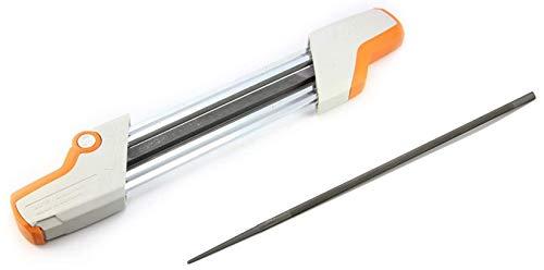 Stihl 2 in 1 Easy File Chainsaw Chain Sharpener 3/8 P + Bonus Replacement File!