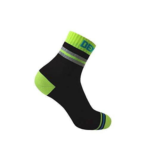 Dexshell Pro Visability Cycling Sock Homme Chaussettes imperméable Thermique - Jaune - L