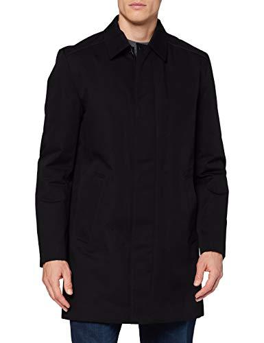 HUGO Mens Marec2041 Dress Coat, Black (1), 46