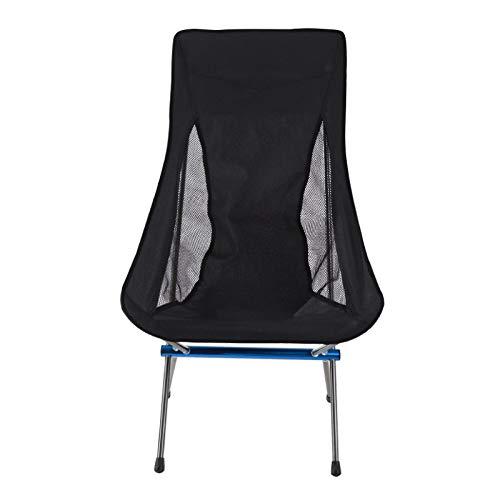 YLJYJ Beim Wandern, Picknicken (BBQ) können Sie Campingstühle im Freien, tragbare Klappstühle und verbesserte Versionen von Freizeitrucksäcken im Freien verwenden.
