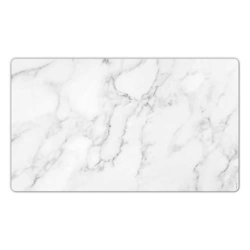 Großes Mousepad Mauspad Schreibtischunterlage Maxi Pad Marmor marble Marmoroptik Granit 60 x 35 cm I seeyoudee