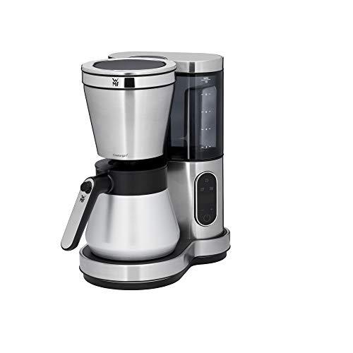 WMF Lumero Kaffeemaschine mit Thermoskanne, Filterkaffee, 8 Tassen, abnehmbarer Wassertank, Touch-Display, Tropfstopp, Schwenkfilter, Abschaltautomatik, 800 W