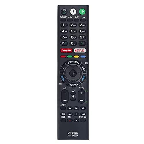 ALLIMITY RMF-TX300E sub RMF-TX200E Fernbedienung Ersetzen für Sony Bravia TV KD-43XE8005 KD-55XE8505KD-55XD8505 KD-55XD8577 KD-55XD8599KD-55XE9005 KD-75XE9405 KD-55XD8005 KD-55XD8005