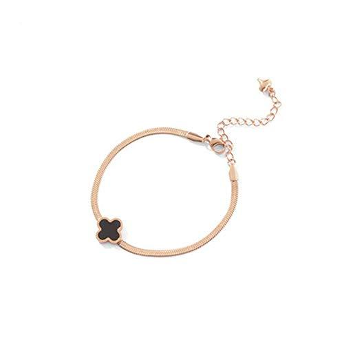 APcjerp Retro In Nischen-Entwurfs-Armband Frauen Seil Hand Einfache Kalter Wind Uhren-Armband Schmuck (Farbe: B) (Color : B)