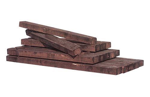 Intermas M234587-traité autoclave traverse en bois de sapin 180 x 20 x 10