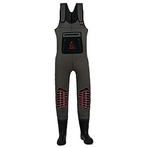 High Back RedCat® Neopren Wathose mit Stiefel von Behr