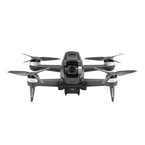 DJI FPV - Drone con sistema realtà aumentata, Video in 4K/60fps, Super grandangolo FOV 150°, Stabilizzazione RockSteady, Trasmissione fino a 6 km, 3 modalità di volo, App Virtual Flight, Plug EU
