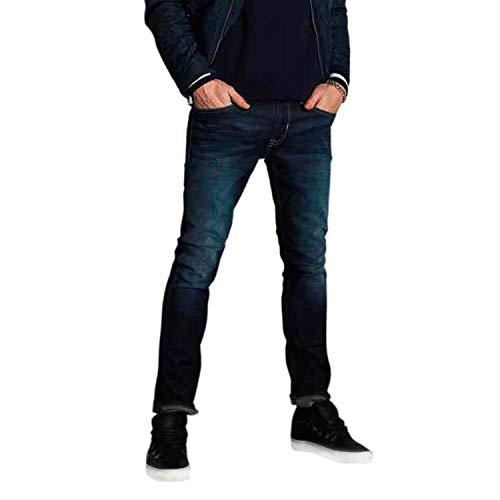 Gaudi Jeans Herren Skinny Fit, Slim Fit, Blau 28 W/ 32 L