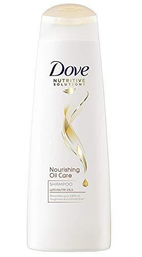 DOVE Shampoo - Nourishing Oil Care - für glattes, trockenes, raues und krauses Haar - 6er- Pack (6 x 250 ml)