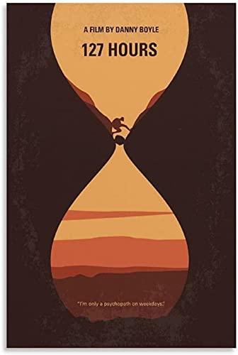 TANXM Lienzo Y Arte De Pared PóSter 30x50cm Sin Marco Póster de 127 Horas de películas, Pintura Decorativa para Sala de Estar, Dormitorio