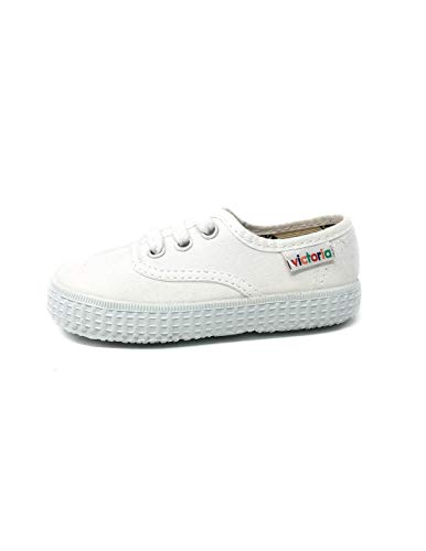 Victoria Inglesa Lona 6613, Zapatillas de Tela Unisex, Blanco (20 Blanco), 30