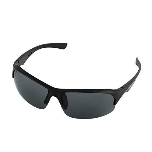 QiKun-Home Gafas de Sol de conducción al Aire Libre Anti UV Multicolor Gafas de Sol Deportes Hombres y Mujeres Gafas Gafas de visión Nocturna Suelo Negro