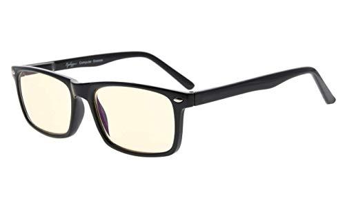Eyekepper Computer Glasses Blue Light Filter Eyeglasses Anti Blue Glare Blocking UV...
