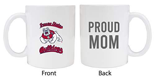 Fresno State Bulldogs Proud Mom White Ceramic Coffee Mug