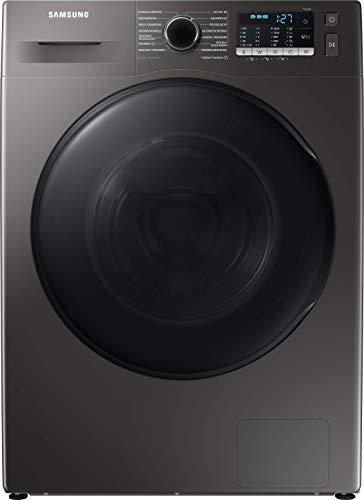 Samsung WD8ETA049BX/EG Waschtrockner / 8+5 kg / 1400 U/min / B / Farbe INOX / SchaumAktiv / AirWash / Hygiene-Dampfprogramm