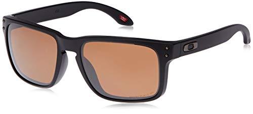 Oakley 0OO9102 Occhiali da Sole, Blu (Matte Black), 57 Uomo