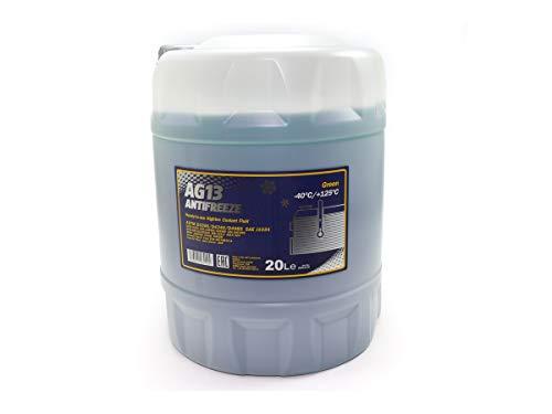 MANNOL Frostschutz grün SAE J1034 Hightec Antifreeze AG13-40°C 20 Liter