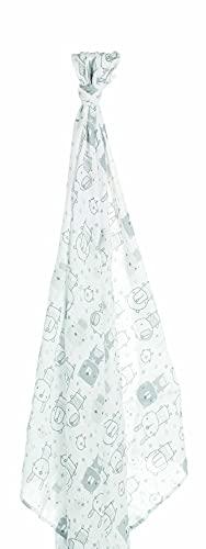 Jané Muselina de Bambú y Algodón, Medidas 120x120cm, Multifunción, Lactancia