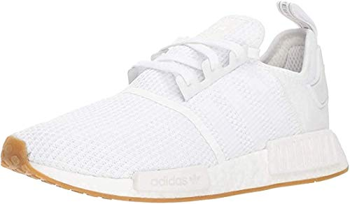 adidas Originals mens Nmd_r1 Shoe, White/White/Crystal White, 9.5 US