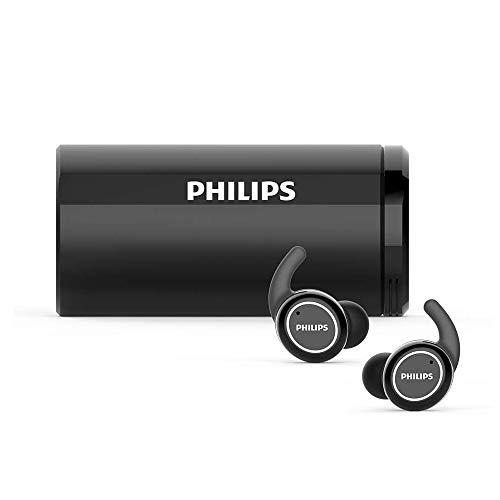 PHILIPS(フィリップス) フルワイヤレスイヤホン ブラック TAST702BK/98 [リモコン・マイク対応 /ワイヤレス(左右分離) /Bluetooth]