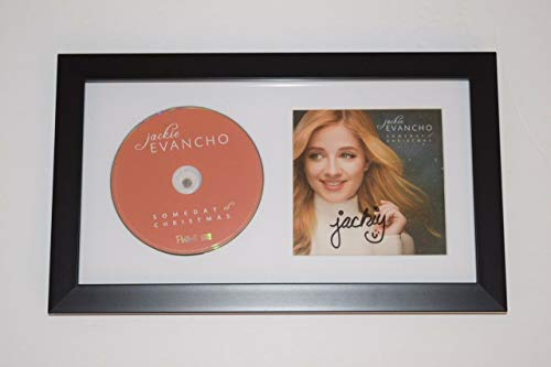 Jackie Evancho Signed Autograph Framed SOMEDAY AT CHRISTMAS CD Display COA