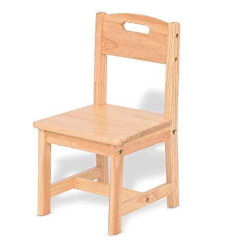 Children's studie bureau Kids Table Planken met berging, Deluxe Hardwood Activiteit Speeltafel for kinderen, een bureau en rugleuning stoel for Playroom/Daycare/Preschool Children's studie tafel e