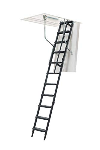 Dolle ClickFix Thermo Comfort - Escalera plegable de acero (1200 x 700 mm)