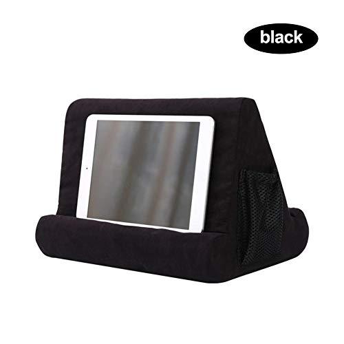 Fancylande tablethouder voor mini-kussens, kussen voor mobiele telefoons, verschillende hoeken, met zachte kussens voor tablet, e-reader, smartphone, boeken, tijdschriften