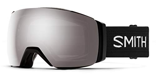 Smith Optics I/O Mag XL Adult Snowmobile Goggles - Black/Chromapop Sun Platinum Mirror/One Size