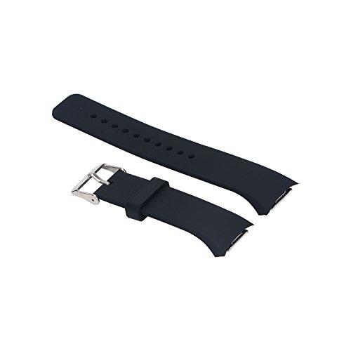 Cinturino orologio Gear S2, cinturino di ricambio sportivo Pinhen in morbido silicone per Smart Watch Samsung Galaxy Gear S2SM-R720/SM-R730