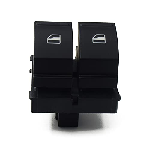 Interruptor de Ventana de Coche Interruptor de Control de Ventana eléctrico, para VW Caddy 2K, para Jetta EOS Golf MK5 Passat B6, para Seat Altea Ibiza Leon 1K3 959 857A 2K3 959 857A