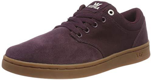 Supra Herren Chino Court Sneaker, Rot (Wine-Gum 632), 40 EU