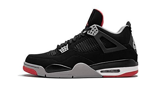 Air Jordan 4 Retro (Black/Cement Grey-Summit White 8)