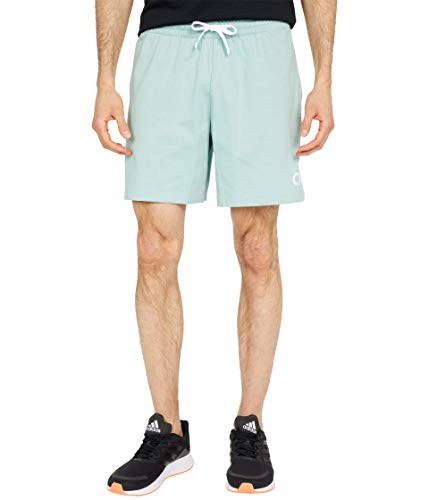 adidas Mens Essentials Short Hazy Green Medium