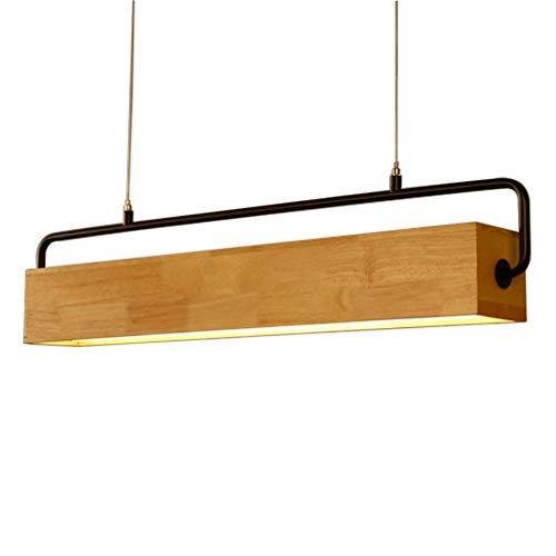 LED hanglamp van hout creatieve hanglamp Sala eetkamerlamp eettafel hanglamp eiken moderne verlichting voor woonkamer Rist